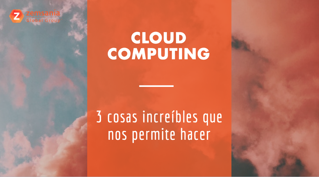 cloud computing zemsania