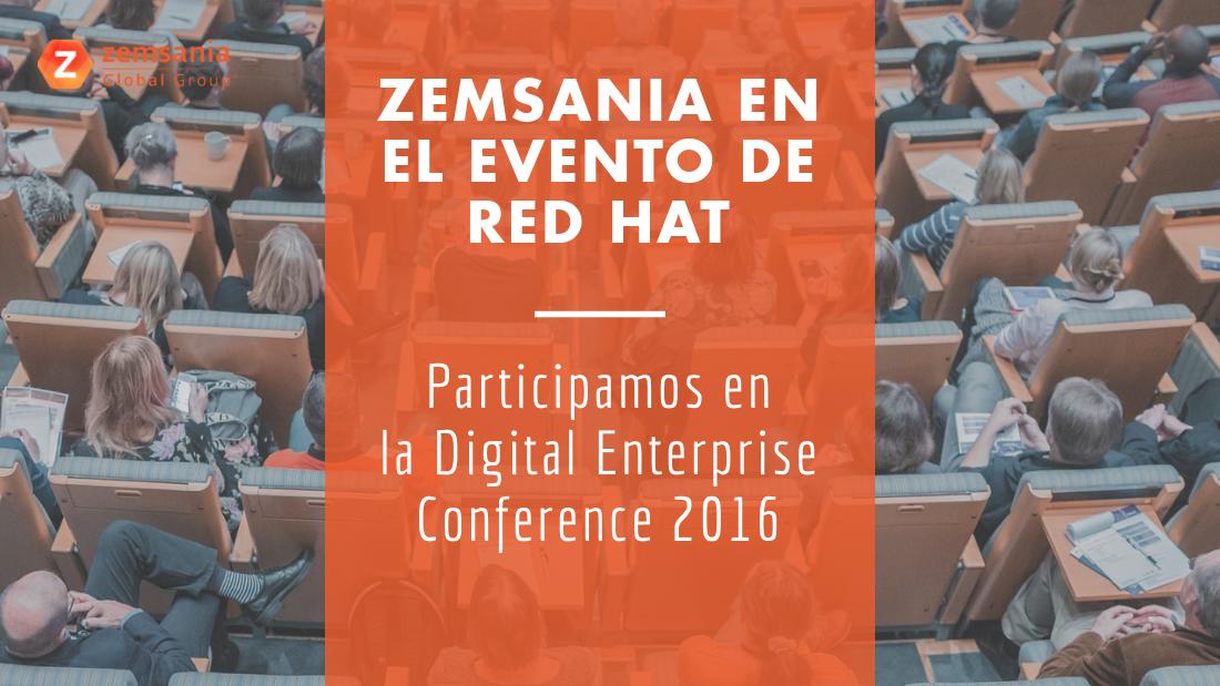 Zemsania participa en el evento de Red Hat