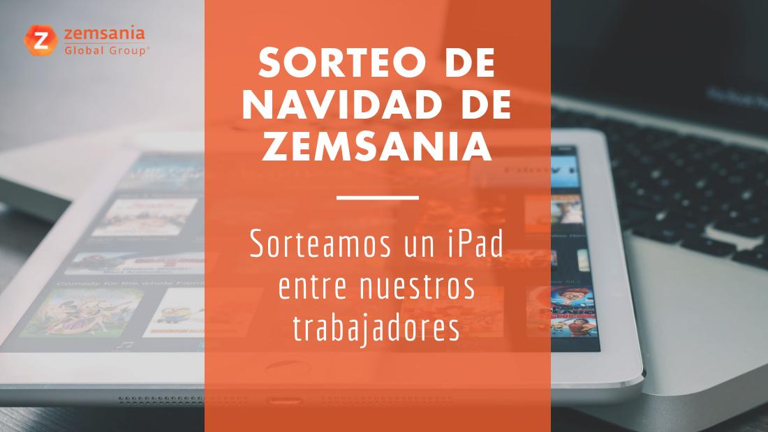 Zemsania sortea un iPad