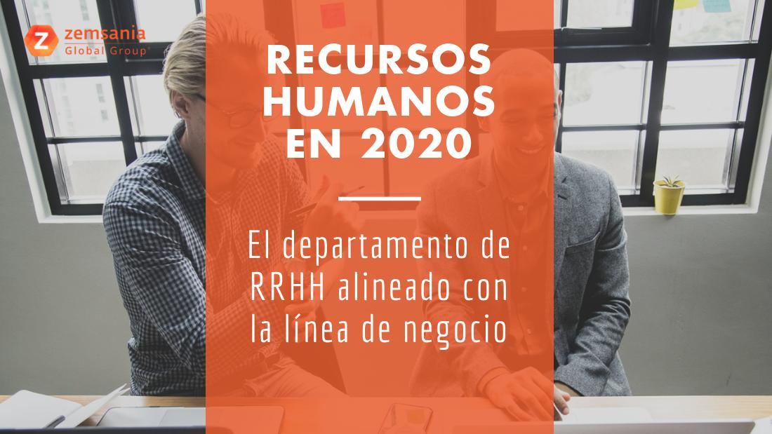 Recursos Humanos en 2020
