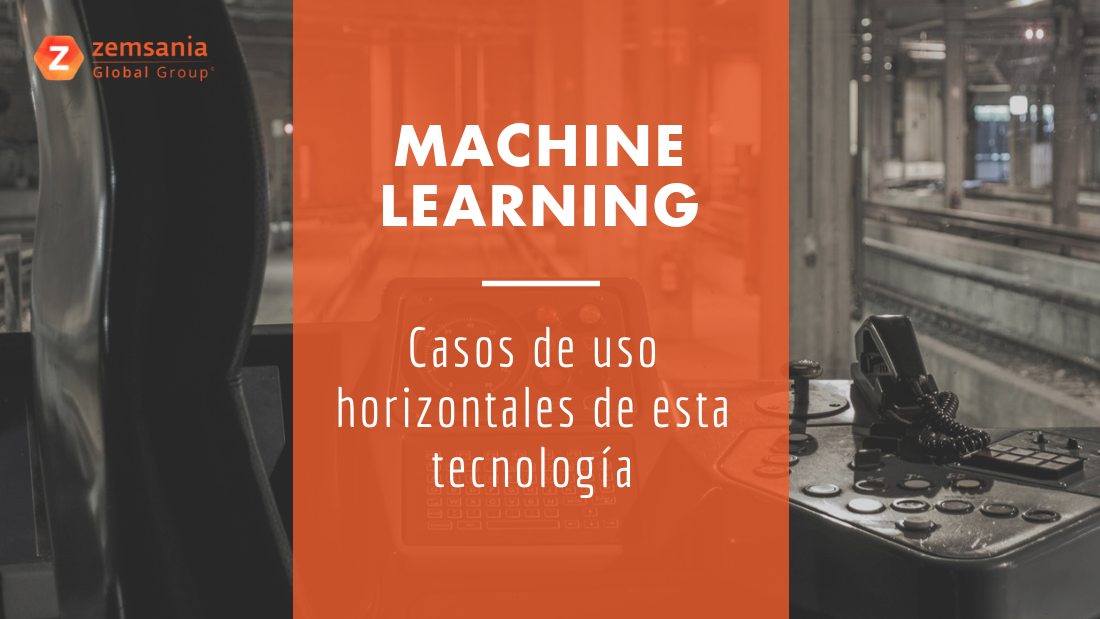 Machine Learning - casos de uso horizontales