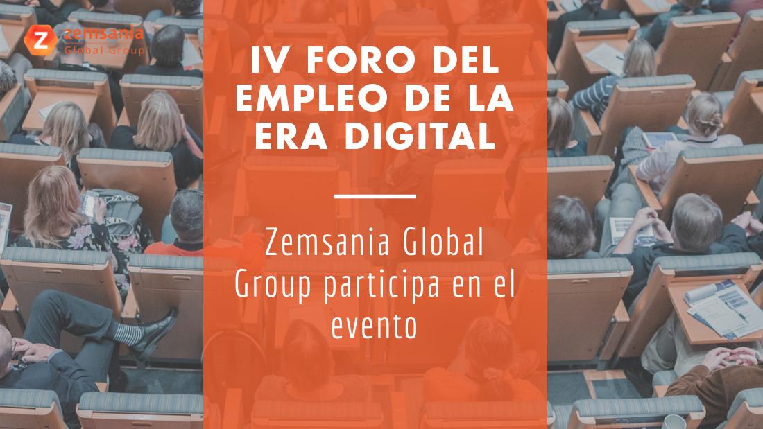 Zemsania IV Foro del empleo en la era digital
