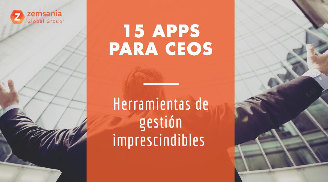 15 apps para ceos