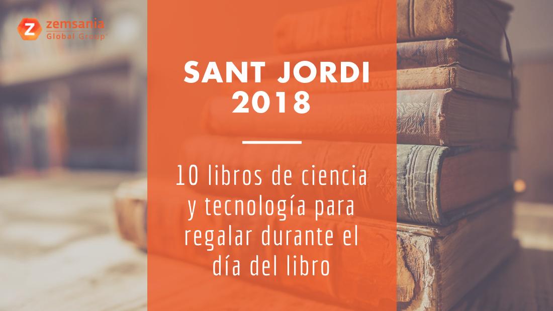 Libros de ciencia y tecnología para Sant Jordi