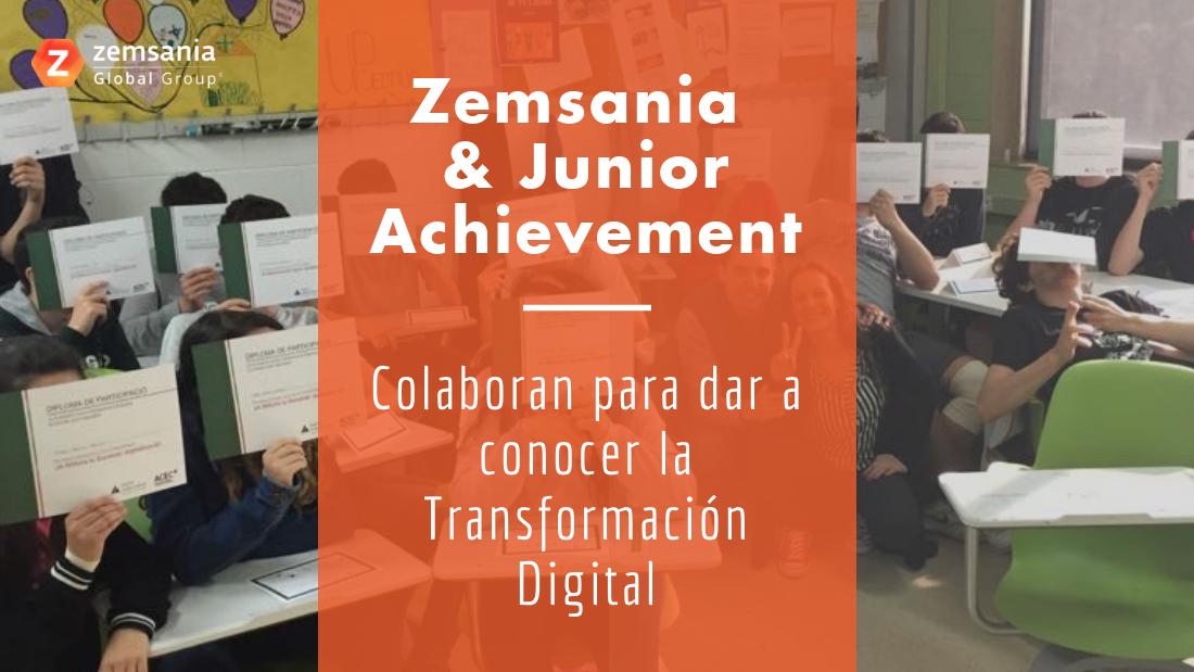 Zemsania colabora con Junior Achievement
