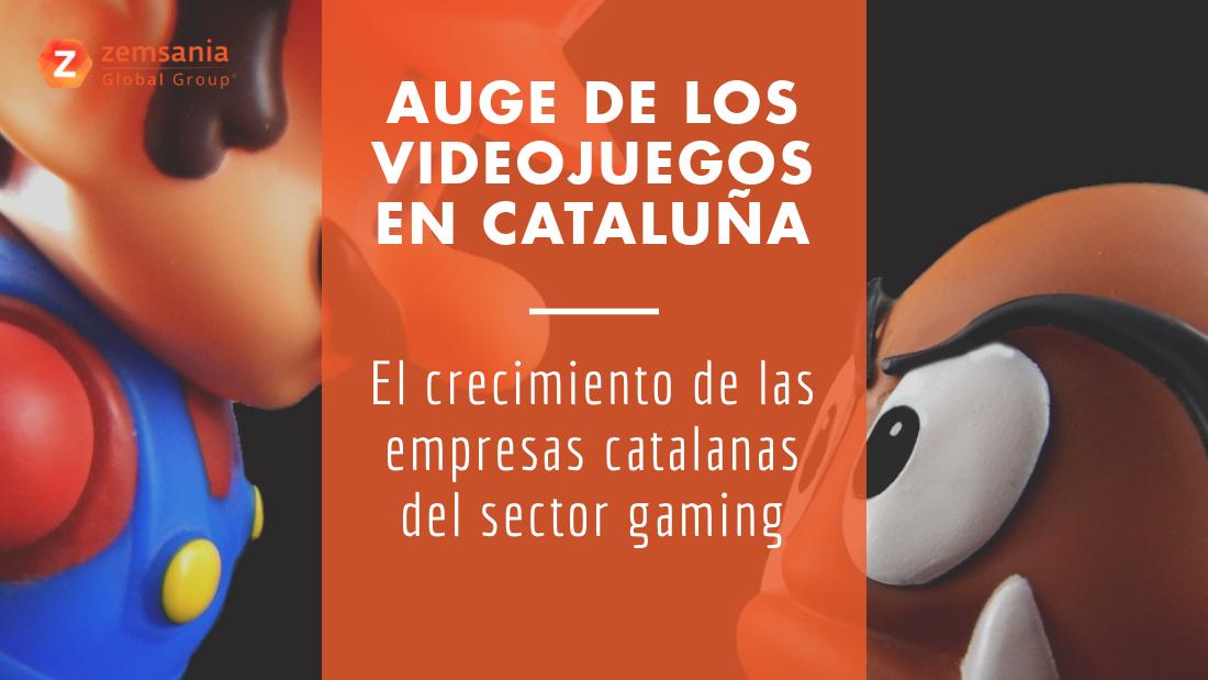 El crecimiento de las empresas catalanas de videojuegos