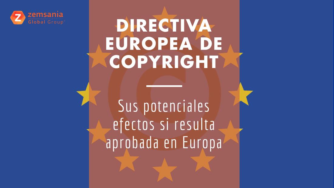 Nueva Directiva Europea de Copyright