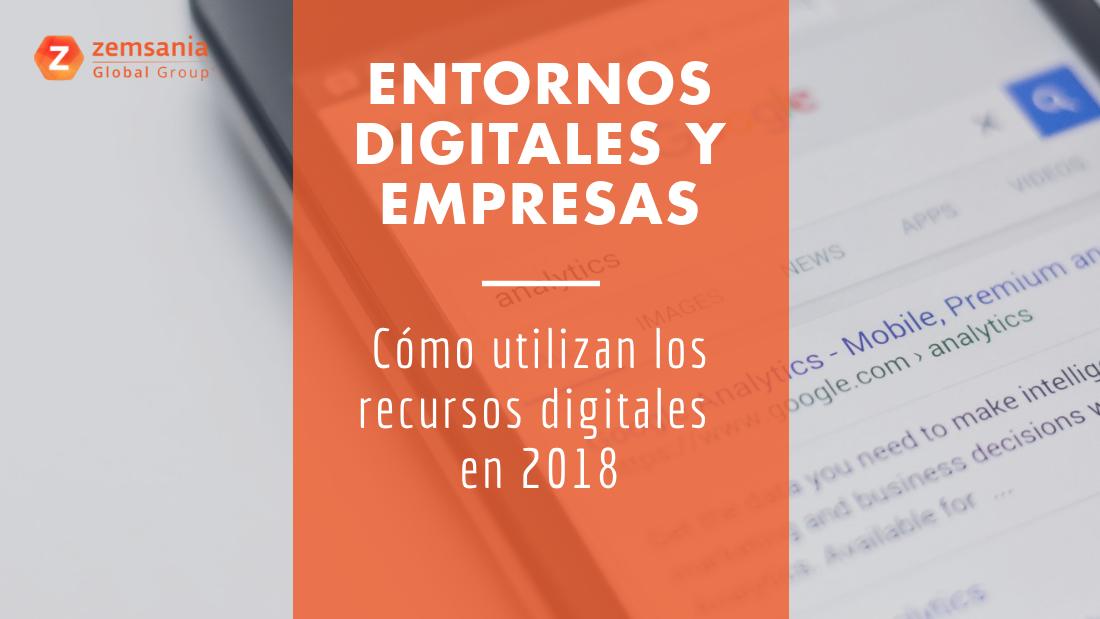 Entorno digital en 2018
