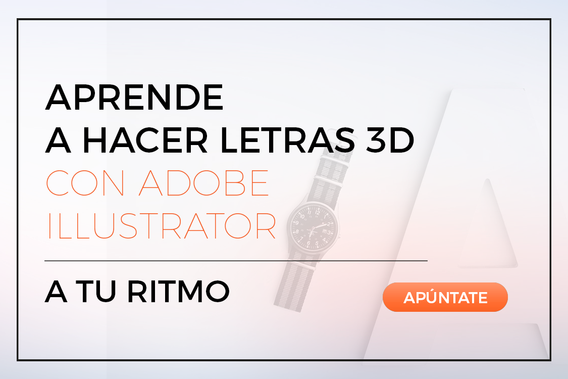 Aprende A Hacer Letras 3d Con Adobe Illustrator Zemsania Global Group